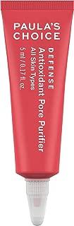 Paula's Choice DEFENSE Antioxidant Pore Purifier, Concentrated Serum w/Azelaic Acid & Salicylic Acid, Anti-Pollution & Free Radical Damage Protection, Travel Size