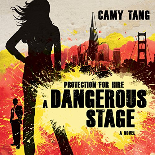 Dangerous Stage audiobook cover art