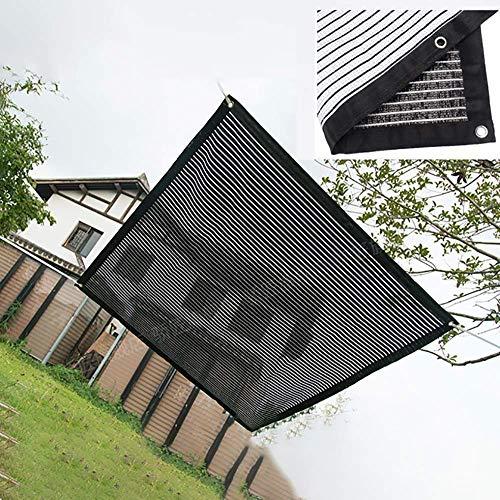 Toldo de toldo de vela de parasol de 2m x 2m, 75% de bloqueo UV, permeable al agua y al aire, malla de sombra comercial y residencial, para pérgola de patio, (disponible para tamaños personalizados)