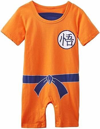 Ropa para bebé, diseño súper heroe DBZ, body pijama para ...
