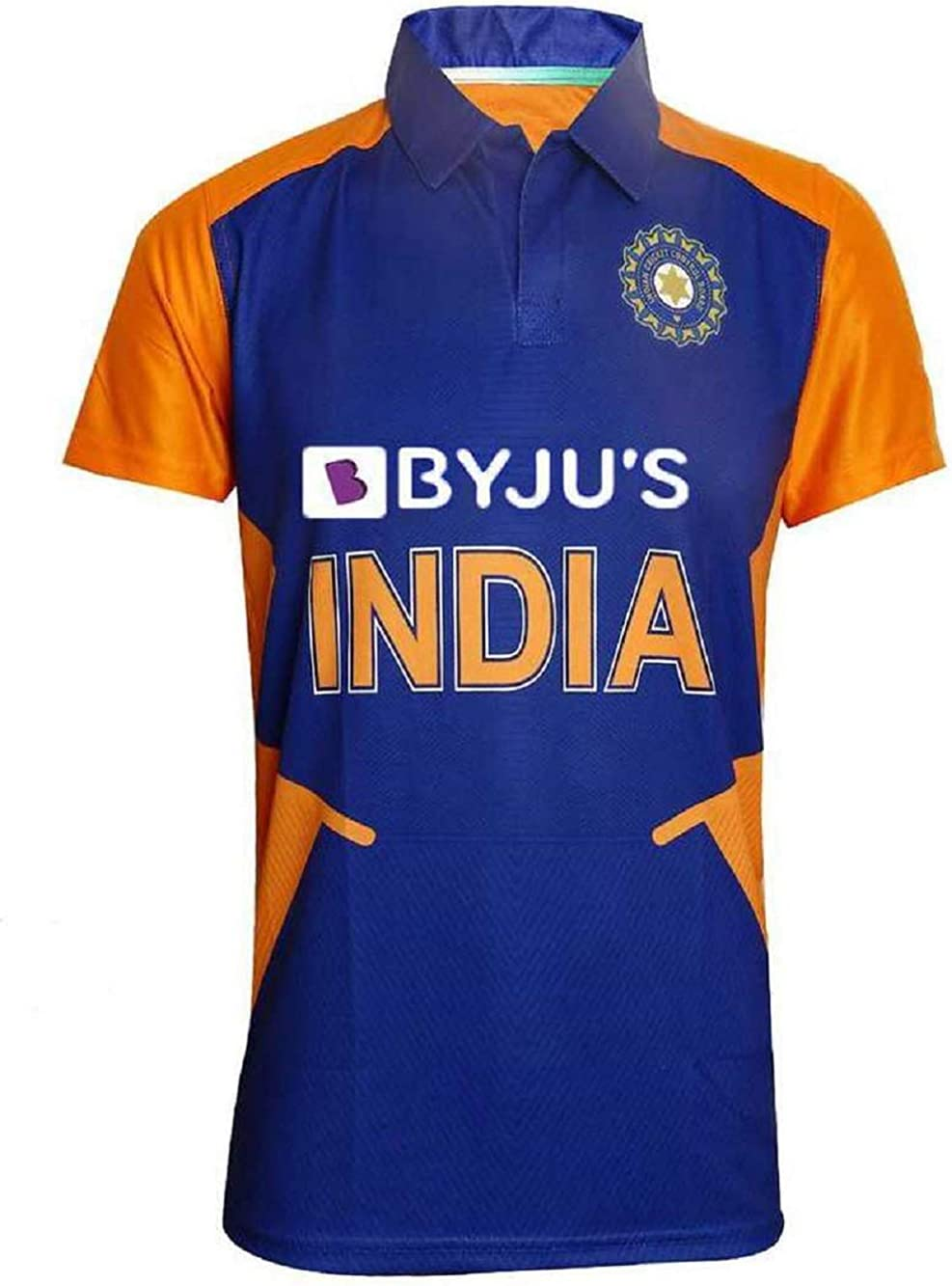 KD Cricket India Away Jersey Half & Full Sleeve Polyster Fit Material