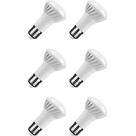 6er Pack NuLoXx LED Reflektor R63 7W 4000K 500lm neutralweiß E27 110°