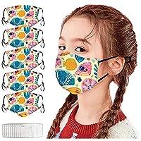 マスク ひんやり【MASZONE】子供用マスク 洗える かわいい 5枚 マスク 洗える 超快適マスク 洗える抗菌あったかマスク フェイスガード 抗菌マスク 布マスク 抗菌防臭 肌にやさしい 冷感マスク 洗える 通気性 男女兼用 防塵マスク