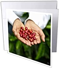 Don Francisco Serracin, Don Pachi Estate, Holding Coffee- Greeting Cards, 6 x 6 inches, Set of 12 (gc_10473_2)