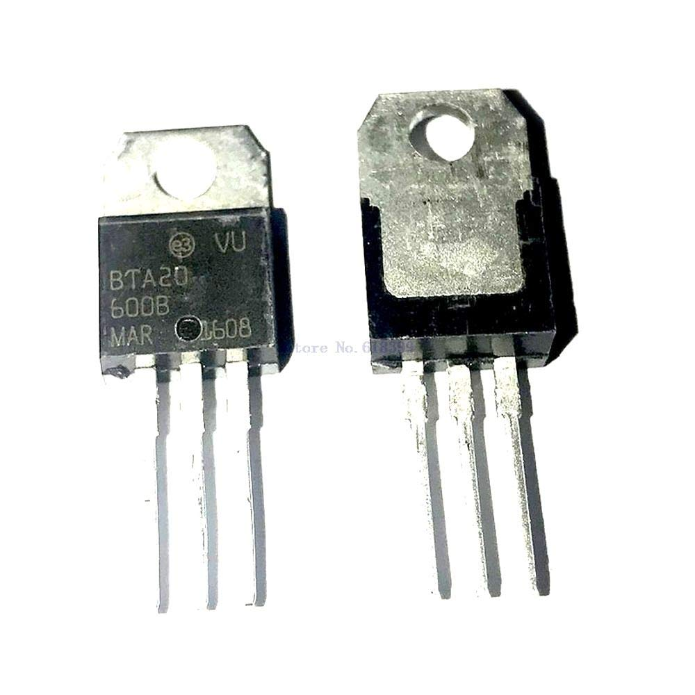 Surprise price Gifts 10pcs lot TRIAC Alternistor - 600V Through 20A Snubberless Hole