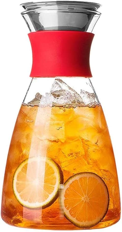 BLLXMX Heat Resistant safety Borosilicate Water Wi Pitcher Carafe Glass Translated
