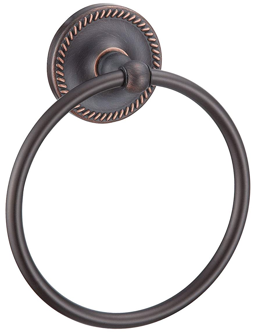 Designers Impressions Naples Series Oil Rubbed Bronze Towel Ring