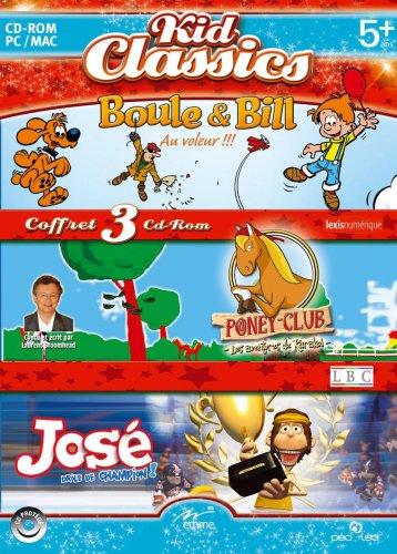 Boule et Bill au voleur / Poneyclub les Aventures de Karacol / José drôle de champion