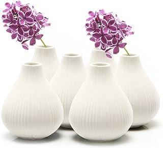 e1d5d395e0b Amazon.com  White - Vases   Home Décor  Home   Kitchen