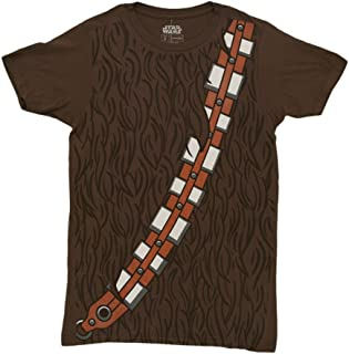 Star Wars I am Chewbacca Costume Adult Brown T-Shirt (Medium)