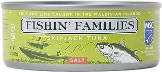 Fishin' Families MSC Pole & Line Skipjack Tuna (Salted, 6-Pack)