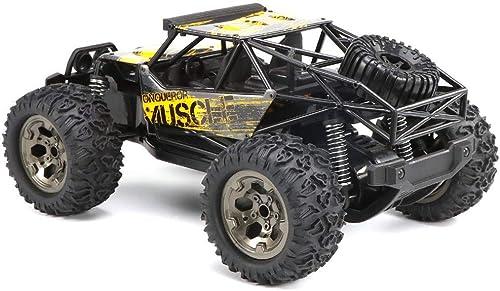 wholesape barato MaanZys RC Car 2.4 GHz Control Control Control Remoto Camión Todoterreno Eléctrico de Alta Velocidad Racing Rock Crawler Hobby Car Escala 1 12, Bronce,amarillo  mejor servicio
