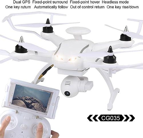 Sisit Coole AOSENMA CG035 Brushless Doppel GPS 5,8G FPV1080P Gimbal Kamera Quadcopter Drone 300 mt Steuerdistanz (Weiß)