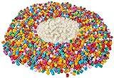Simba 106374019 - Art & Fun Bügelperlen mit Glow in the dark Effekt und Einhorn Steckplatten