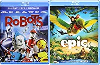 Epic & Robots Cartoons from the creators of Ice Age Blu Ray Animated Set