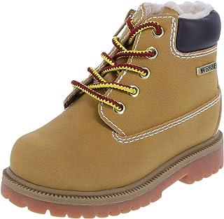 SmartFit Boys' Tan Boys' Toddler Fleece Waterproof Boot 5 Regular
