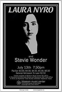 生砂糖アートスタジオ ローラナイロ/スティービー・ワンダー 1971年クリーブランドコンサートポスター
