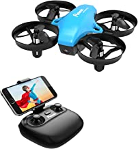Potensic A20W FPV Mini Drone for Kids with Camera, RC Portable Quadcopter 2.4G 6 Axis - Altitude Hold, Headless, Remote Control, Route Setting, Real Time FPV and Detachable Battery