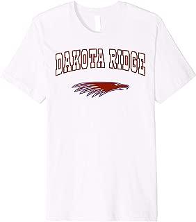 Dakota Ridge High School Eagles Premium T-Shirt C2