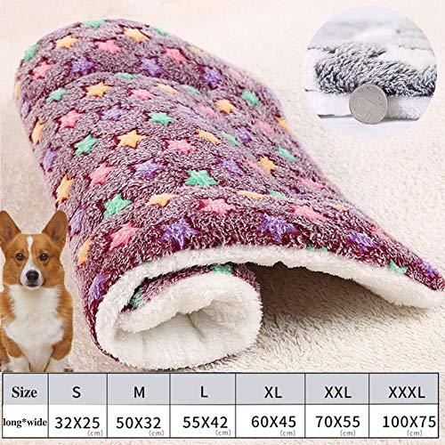 YLAN Flauschige Super Softe Warme und Weiche Decke für Haustier Hundedecke Katzendecke Fleece-Decke Tier Schlafdeck Überwurf für Hundebett Sofa und KennelStyle3-XXXL