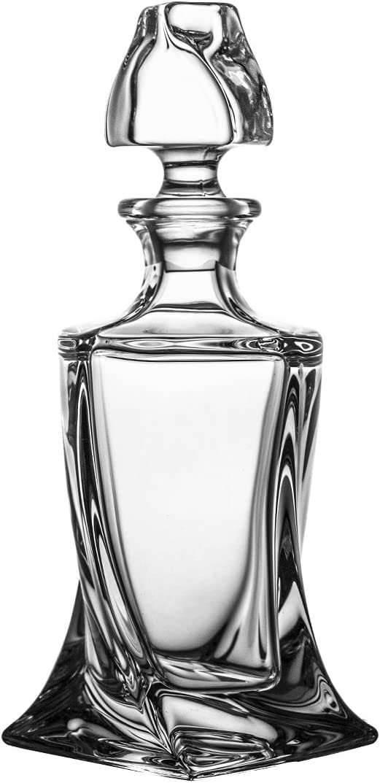 500ml Crystaljulia Karaffe 10 x 10 x 26 cm Glas