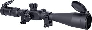 Monstrum Tactical 6-24x50 Rifle Scope with First Focal Plane (FFP) MOA Reticle and Adjustable Objective Lens