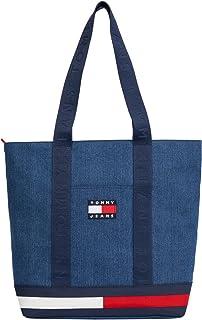 Tommy Jeans - Shopper donna con motivo iconico