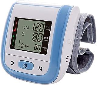 Tensiómetro de muñeca,Tensiómetro Digital Portátil De Muñeca Totalmente Automático Presión Arterial Y Detección De Pulso Arrítmico Memoria (2 * 99)