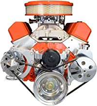 ICT Billet SBC Alternator/Power Steering Pump Accessory Drive Bracket Kit for Electric Water Pump 551324