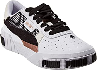 Puma Women's Cali Bold Unexpected Mixes Fashion Sneakers Puma White/Rose Gold 9