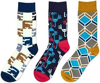 WZDSNDQDY Calcetines de Tubo para Hombre, Calcetines Deportivos con Personalidad de Tendencia Hip Hop, Material de algodón, Malla, Mano Suave y Duradera