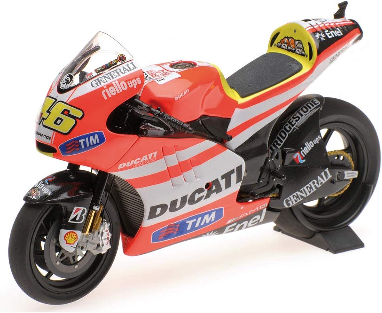 Entrega rápida y envío gratis en todos los pedidos. Minichamps Valentino Rossi Rossi Rossi Ducati desmosedici gp11.2, 2011, 1  12  perfecto