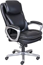 Serta Smart Layers AIR Arlington Executive Chair, Black/Pewter