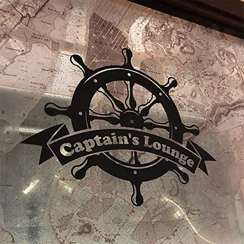 Boot rad wandaufkleber kinderzimmer dekoration nautischen applique wohnkultur wohnzimmer ozean schlafzimmer badezimmer aufkleber 42X51 CM