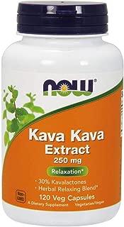 NOW Supplements, Kava Kava 250 mg, 120 Veg Capsules
