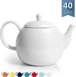 Best white porcelain teapot Reviews