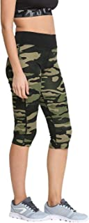 ROOLIUMS® (Brand Factory Outlet Premium Supersoft Capri Pant Army Style, Army Joggers for Women, Army Track Lower for Spor...
