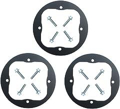 KIPA 3-Pack Deck Spindle Reinforcement Ring for Cub Cadet RZT 50 Mower RZT50 RZT54 918-04126A 918-04125B 918-0671B 918-04126 918-04125 918-04608A 618-04636 618-04636A 618-04865A 918-04636A 918-04865A