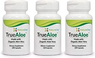 TrueAloe 100% Organic Aloe Vera Supplement (3)
