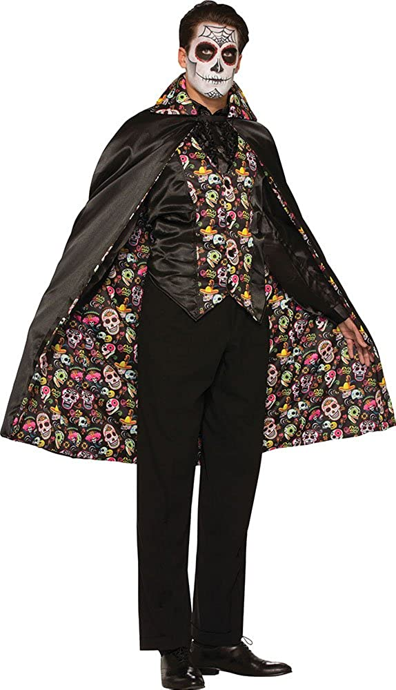 Sportsgear US Mens Halloween Skull Dress Print Fancy Party Outfi Inventory cleanup selling Large discharge sale sale