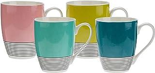 Symphony Pop Mug Set of 4, 300 ml (Multicolor)