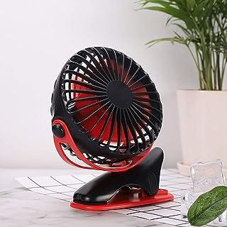 HS-01 USB扇風機、携帯用移動局クランプ小型扇風機、屋外クリエイティブポータブル利便扇風機、オフィスのデスクトップ小さな扇風機ブラック HS-01