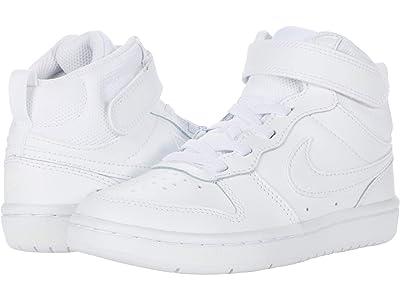 Nike Kids Court Borough Mid 2 (Little Kid) Boys Shoes