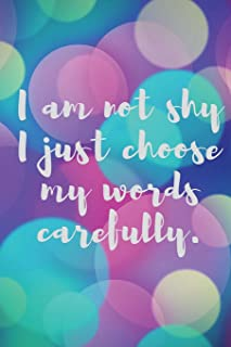 i am shy quotes