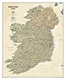 National Geographic: Ireland Executive Wall Map (30 x 36 inches) (National Geographic Reference Map)