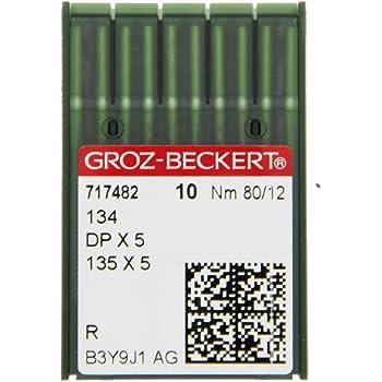 Stärke für Overlock 10 Nähnadeln B27 Nm 90 GROZ-BECKERT Nadeln
