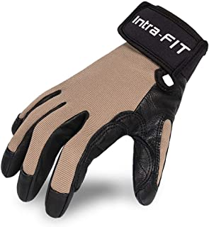 Sponsored Ad - Intra-FIT Climbing Gloves Rope Gloves,Perfect for Rappelling, Rescue, Rock/Tree/Wall/Mountain Climbing, Adv...