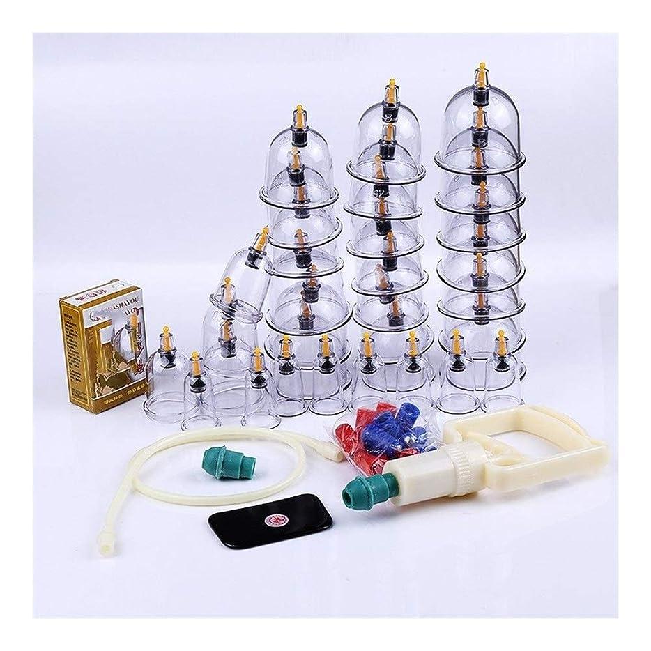 我慢する連邦ウッズカッピングマッサージ、バキュームカッピングセラピー、ディープティシューマッサージ、マッスルリリーフ、ボディケア (Color : Manual cupping)