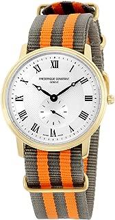 Frederique Constant Slimline Quartz Movement Silver Dial Men's Watch FC-235M4S5-GRYOR