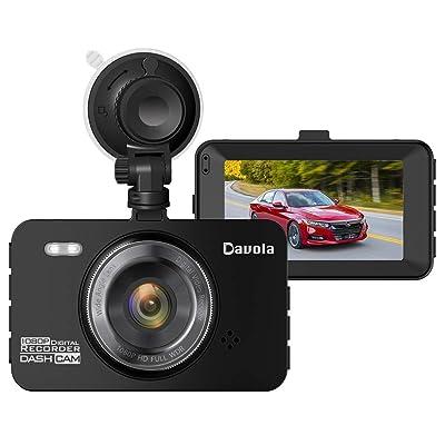 Dash Cam Davola 1080P Full HD Dash Camera